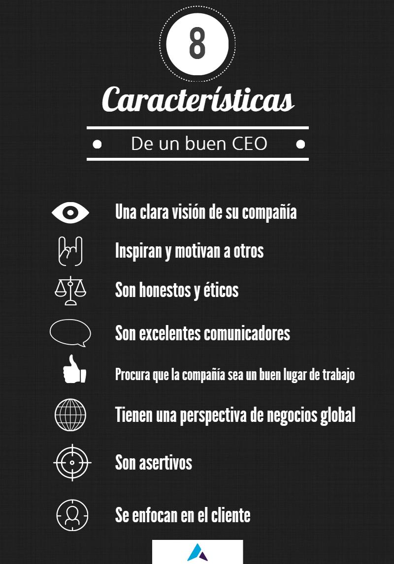8 características de un buen CEO