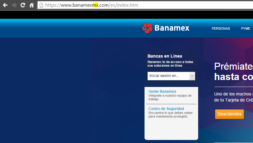 banamex falso