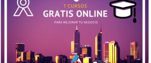 7 cursos gratis online para tu negocio