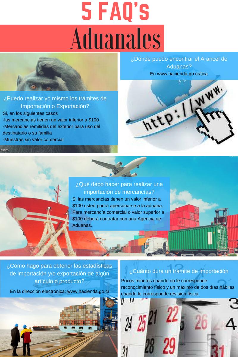 5 FAQ's Aduanas